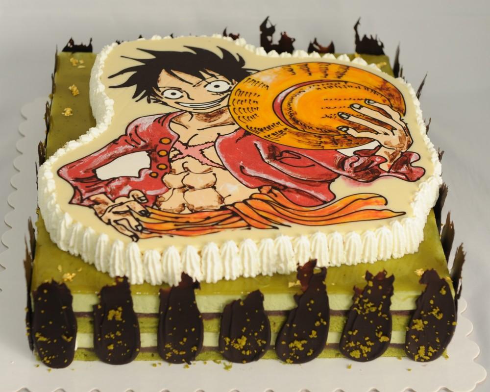 海賊王路飛蛋糕